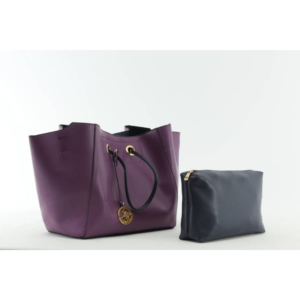 Torebka Beverly Hills Polo Club 01 - Purple/Dark Blue