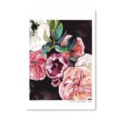 Plakat Americanflat Blooms on Black IV by Claudia Libenberg, 30x42 cm