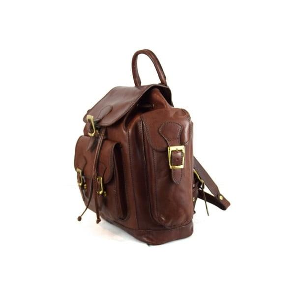 Skórzany plecak Santo Croce 8831 Dark Brown