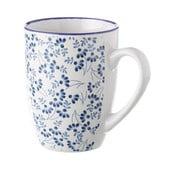 Niebiesko-biały kubek Unimasa Meadow