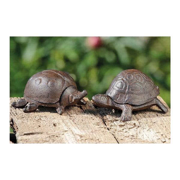 Zestaw 2 schowków na klucze w kształcie żółwia