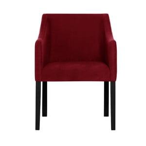 Czerwone krzesło Guy Laroche Illusion