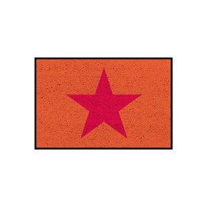 Wycieraczka/dywanik Orange Star, 75x50 cm