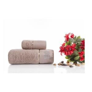 Zestaw 2 ręczników Lotus V2, 30x50 cm + 50x90 cm
