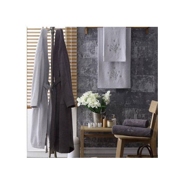 Komplet męskiego i damskiego szlafroka i 3 ręczników Allison