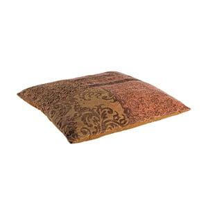 Poduszka z wypełnieniem Twist Arancio, 100x100 cm
