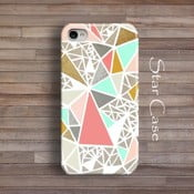 Etui na iPhone 6 Geometric Glitter