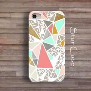 Etui na iPhone 4/4S Geometric Glitter