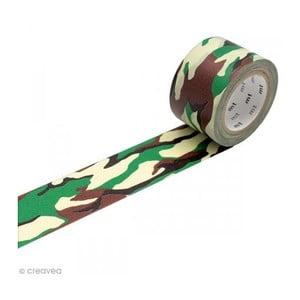 Taśma dekoracyjna washi MT Masking Tape Camouflage