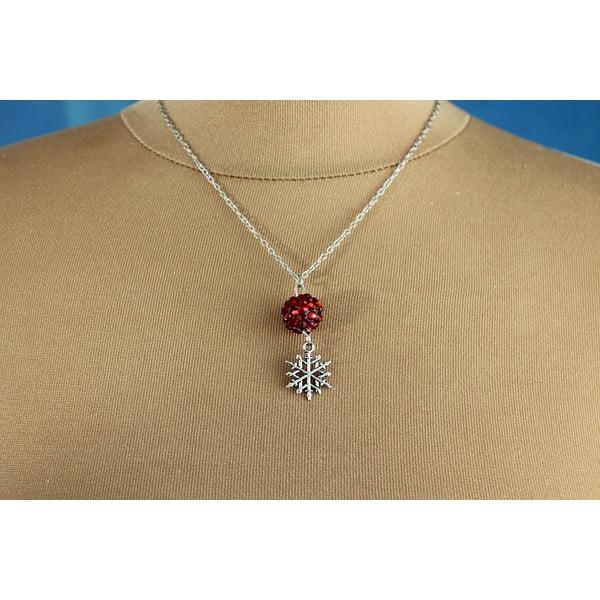 Naszyjnik Christmas Snowflake