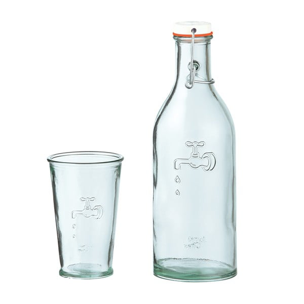 Karafka/butelka na wodę ze szklanką Jamie Oliver
