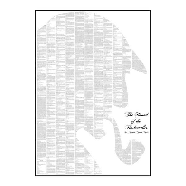 """Plakat """"Pies Baskerville'ów"""", 70x100 cm"""