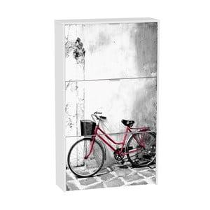 Szafka na buty z 3 uchylnymi drzwiami 13Casa Social Bike