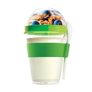 Zielony pojemnik śniadaniowy Yo2GO, nowa kolekcja