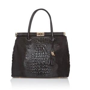 Czarna torebka skórzana Markese Mara