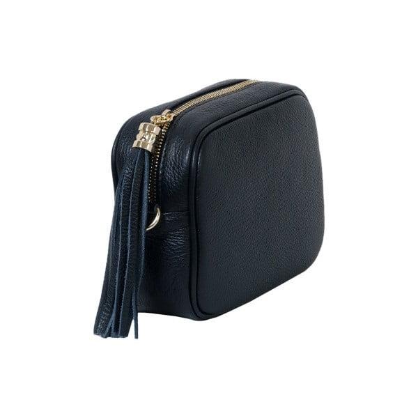 Czarna torebka skórzana Andrea Cardone Pezzo