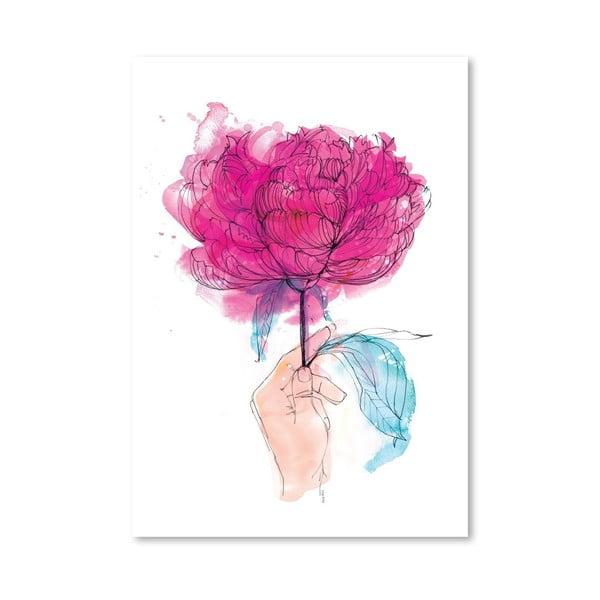 Plakat Rose, 30x42 cm