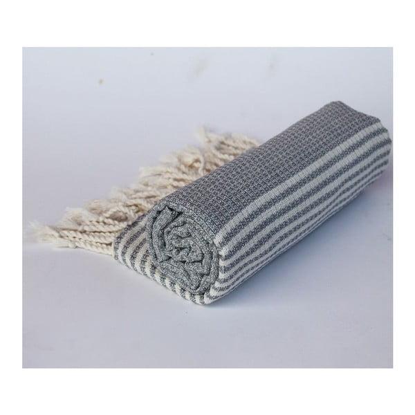Peshtamal Stripy Grey, 100x180 cm