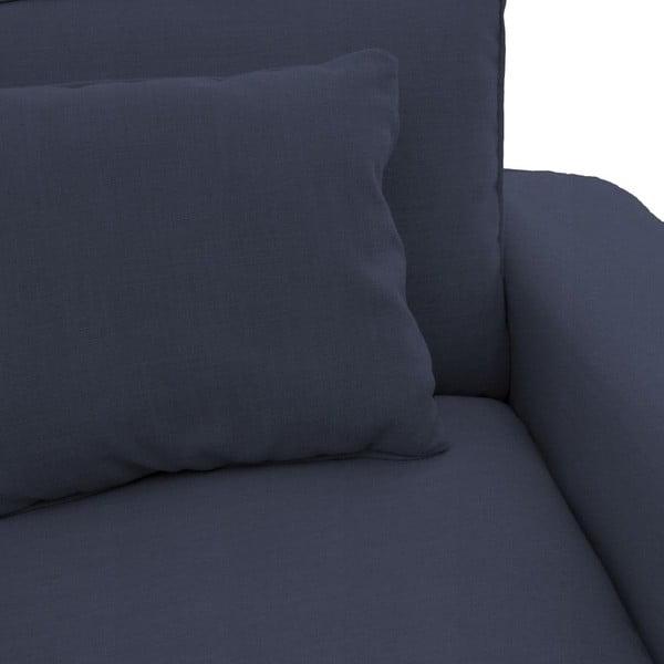 Granatowa sofa trzyosobowa Vivonita Jane