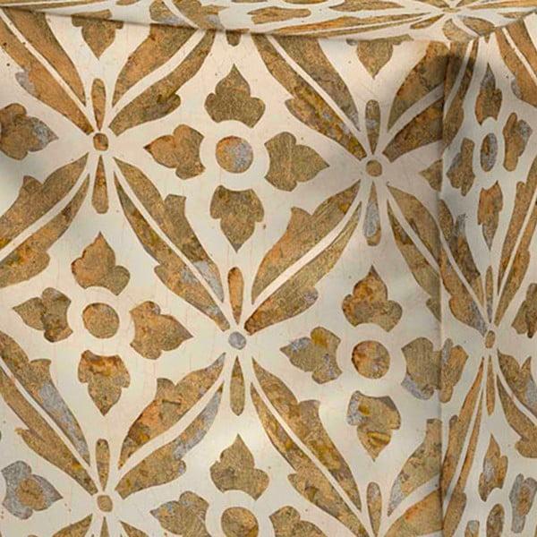 Puf Decorative Gold
