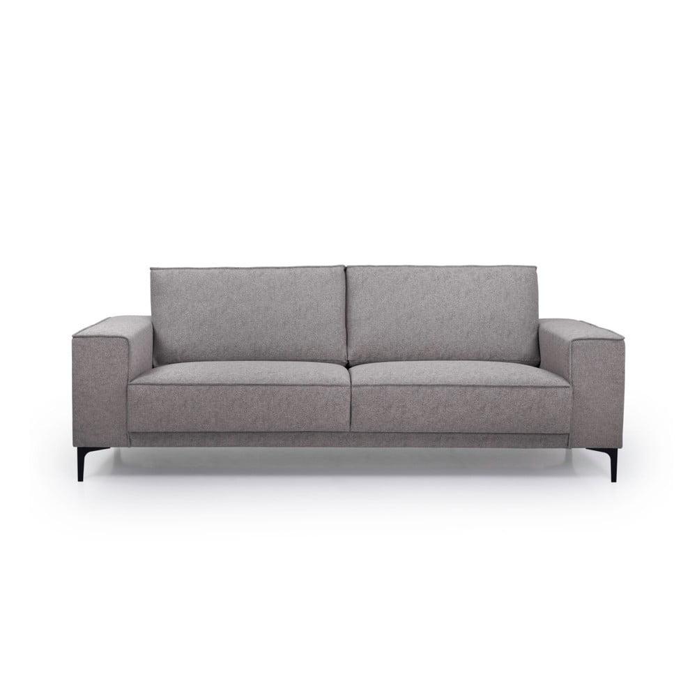 Kawowa sofa Scandic Copenhagen, 224 cm