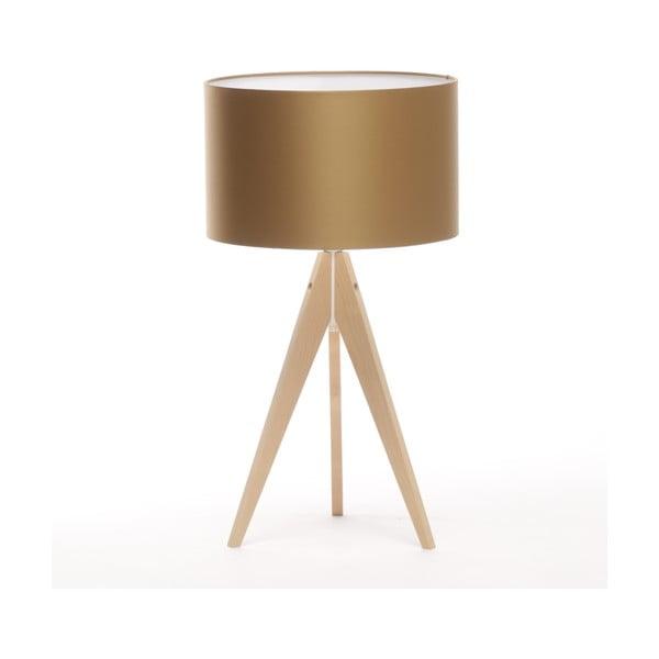 Lampa stołowa Artist Golden/Natural Birch, 65 cm