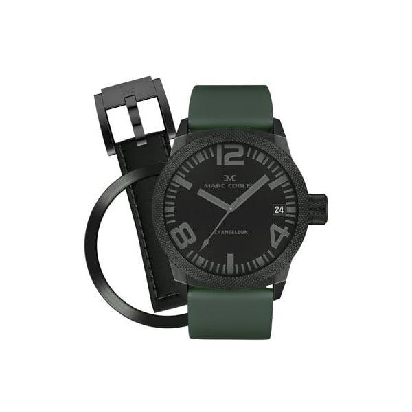 Zegarek unisex Marc Coblen z dodatkowym paskiem i obręczą P41