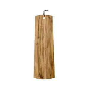 Deska do serwowania z drewna akacji Ladelle, dł. 60cm