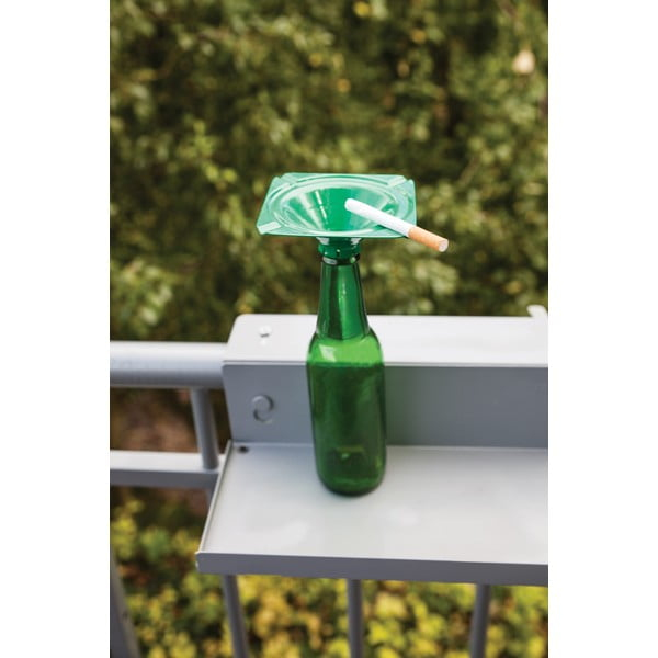 Zestaw 3 popielniczek na butelke Esschert Design Happy