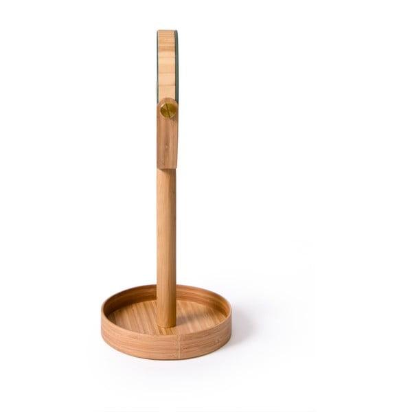 Lustro stołowe z półeczką Magnify Bamboo
