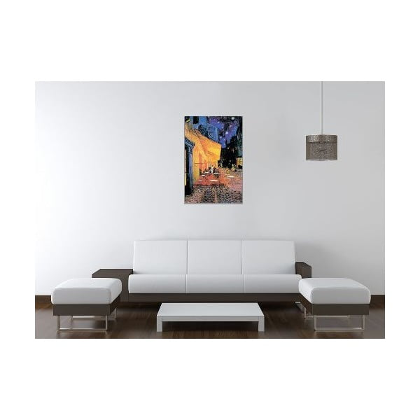 Obraz Vincent Van Gogh - Taras kawiarni w nocy, 60x90 cm