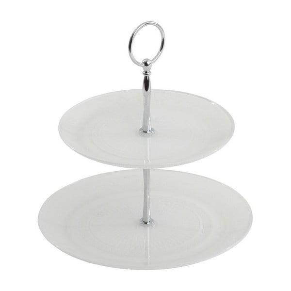 Szklana patera White Plate