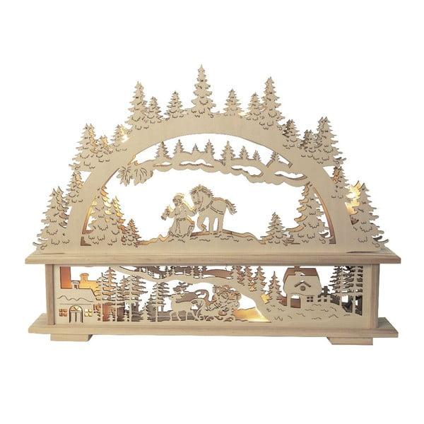 Świecąca dekoracja Santa in Forest