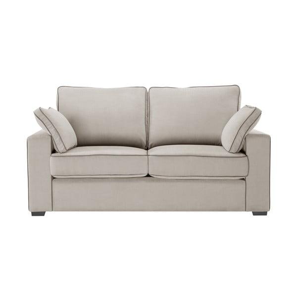 Sofa dwuosobowa Jalouse Maison Serena, taupe