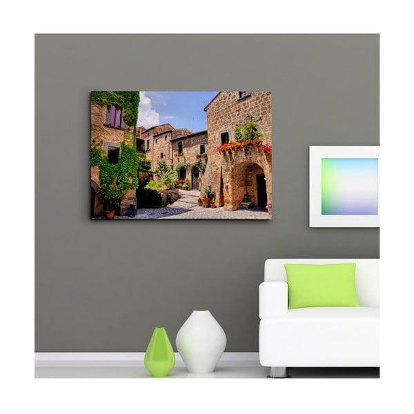 """Obraz na płótnie """"Romantyczny zakątek"""", 50x70 cm"""