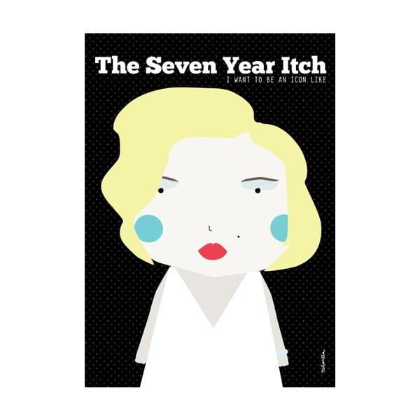 Plakat I want to be like Marylin