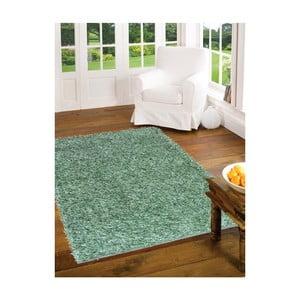 Zielony dywan Webtappeti Shaggy, 60x100cm