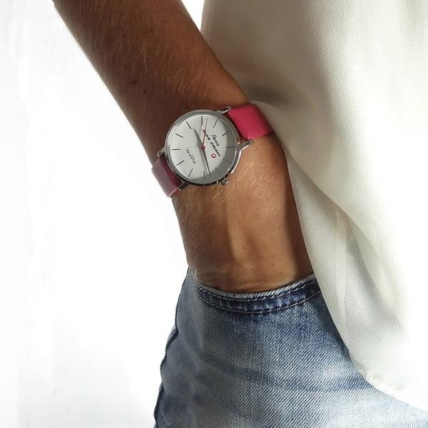 Zegarek VeryMojo Paris Mon Amour, różowy