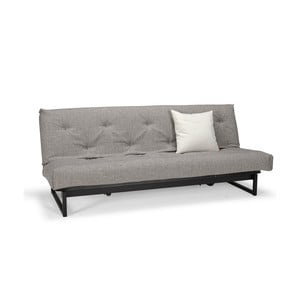 Szara sofa rozkładana Innovation Fraction