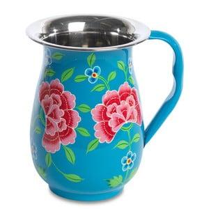 Dzbanek Franjipani Floral Jug, niebieski