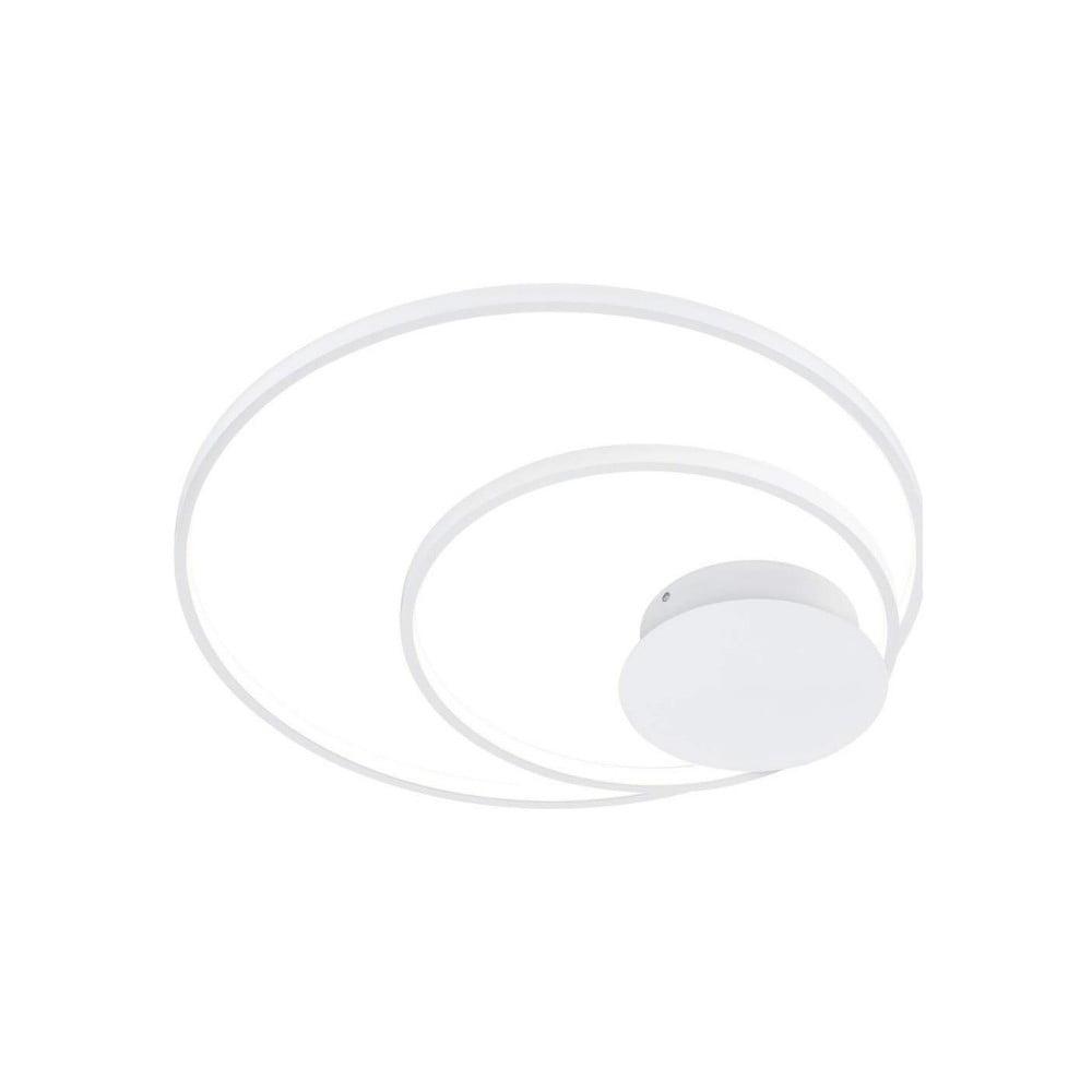 Biała okrągła lampa LED Trio Sedona