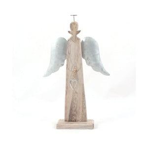 Anioł drewniany Dakls, wys. 24 cm