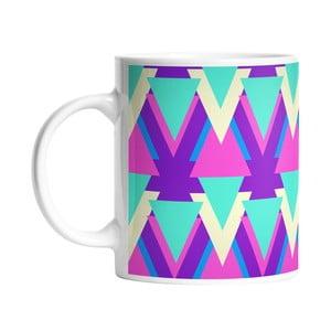 Kubek ceramiczny Sharp Triangles, 330 ml