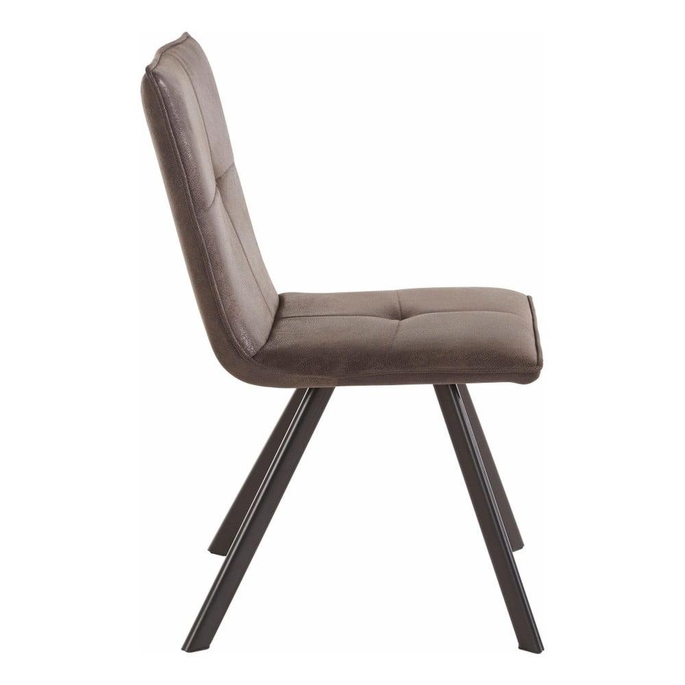 Zestaw 2 czarnych krzeseł Støraa Mel | Bonami