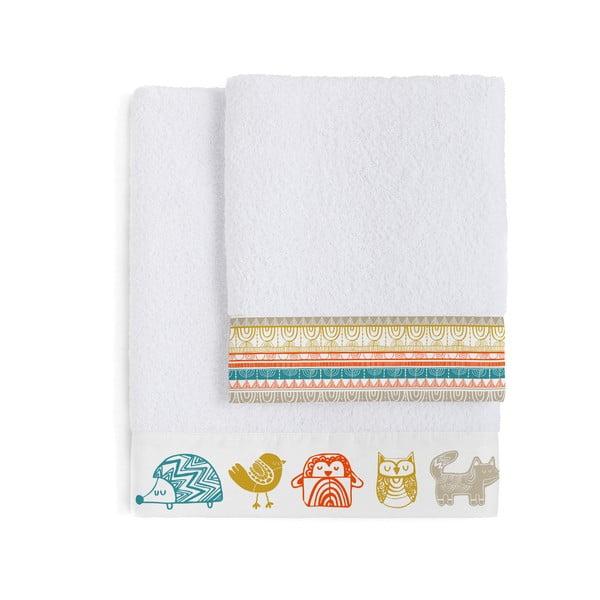 Zestaw 2 ręczników dziecięcych Moshi Moshi Teepee