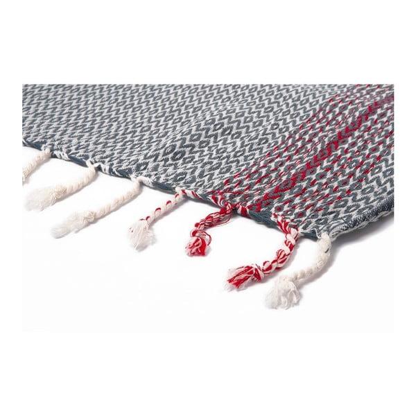Ręcznik hammam Wayward Dark, 95x175 cm