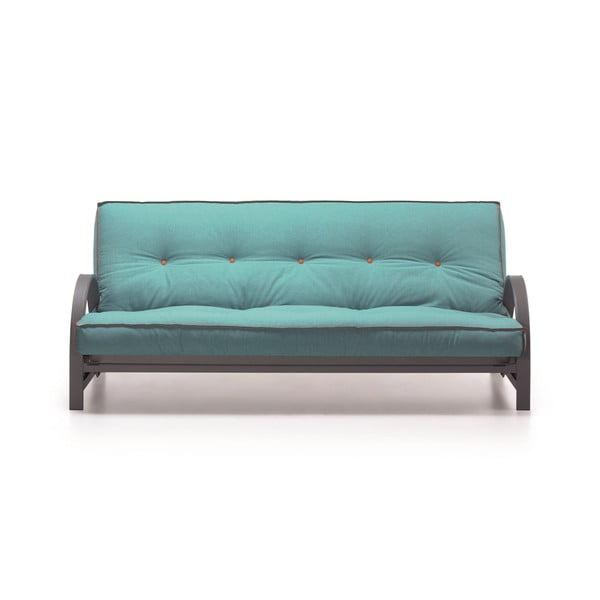Sofa rozkładana Fusion, turkusowa