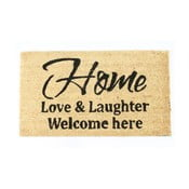 Wycieraczka Home, love & laughter 40x70 cm