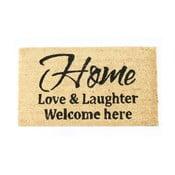 Wycieraczka Home, love & laughter 40x70 cm