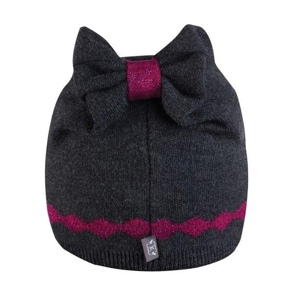 Czapka Alina Grey/Pink